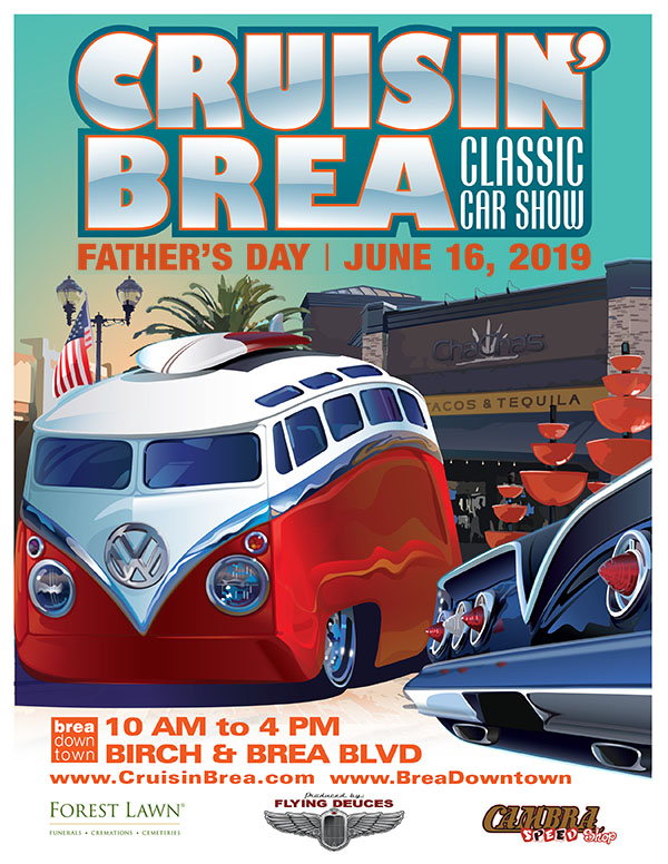 Crusin Brea Father's Day Car Show